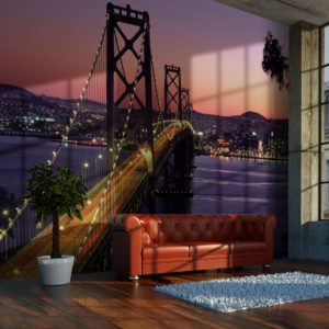 Fototapeta - Charming evening in San Francisco