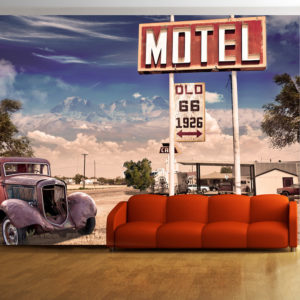 Fototapeta - Old motel