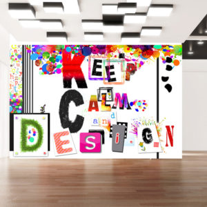 Fototapeta - Keep Calm and Design
